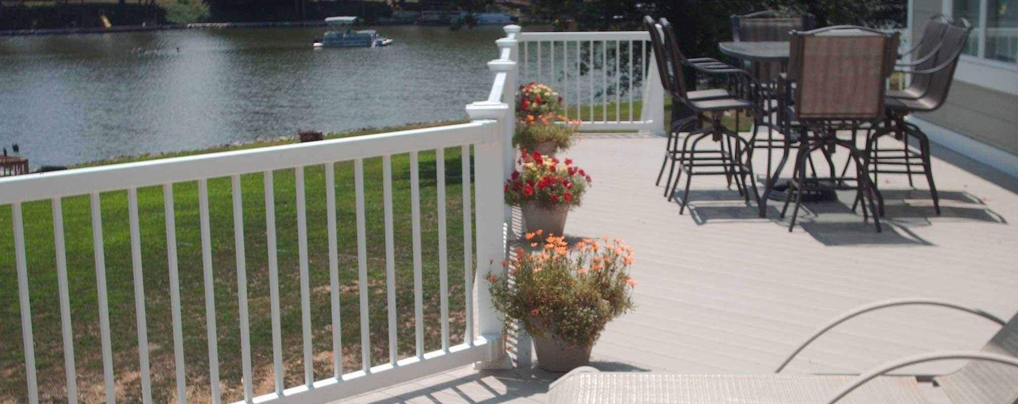 picket railing