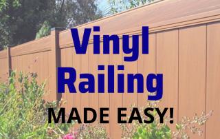 Vinyl Railing Made Easy! 3