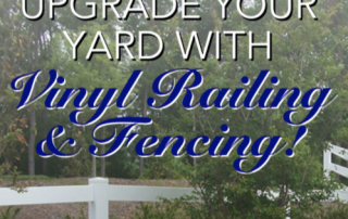 Upgrade Your Yard With Our Vinyl Fencing! 2