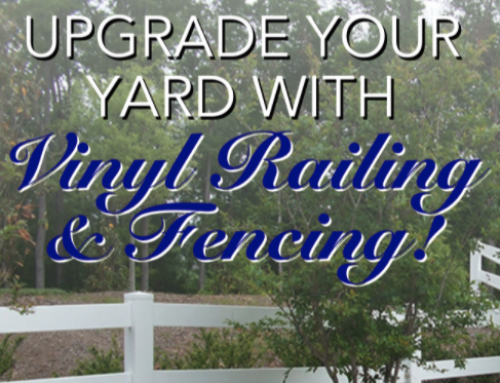 Upgrade Your Yard With Our Vinyl Fencing!